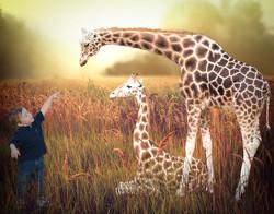 Finished Giraffe Composite