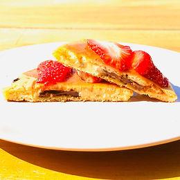 Pancake coeur chocolat