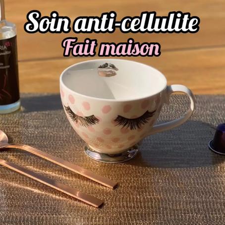 SOIN ANTI-CELLULITE FAIT MAISON