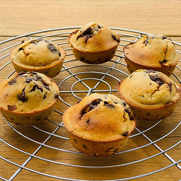 Muffins aux pépites de chocolat