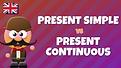 Present Simple VS Present Continuous..pn