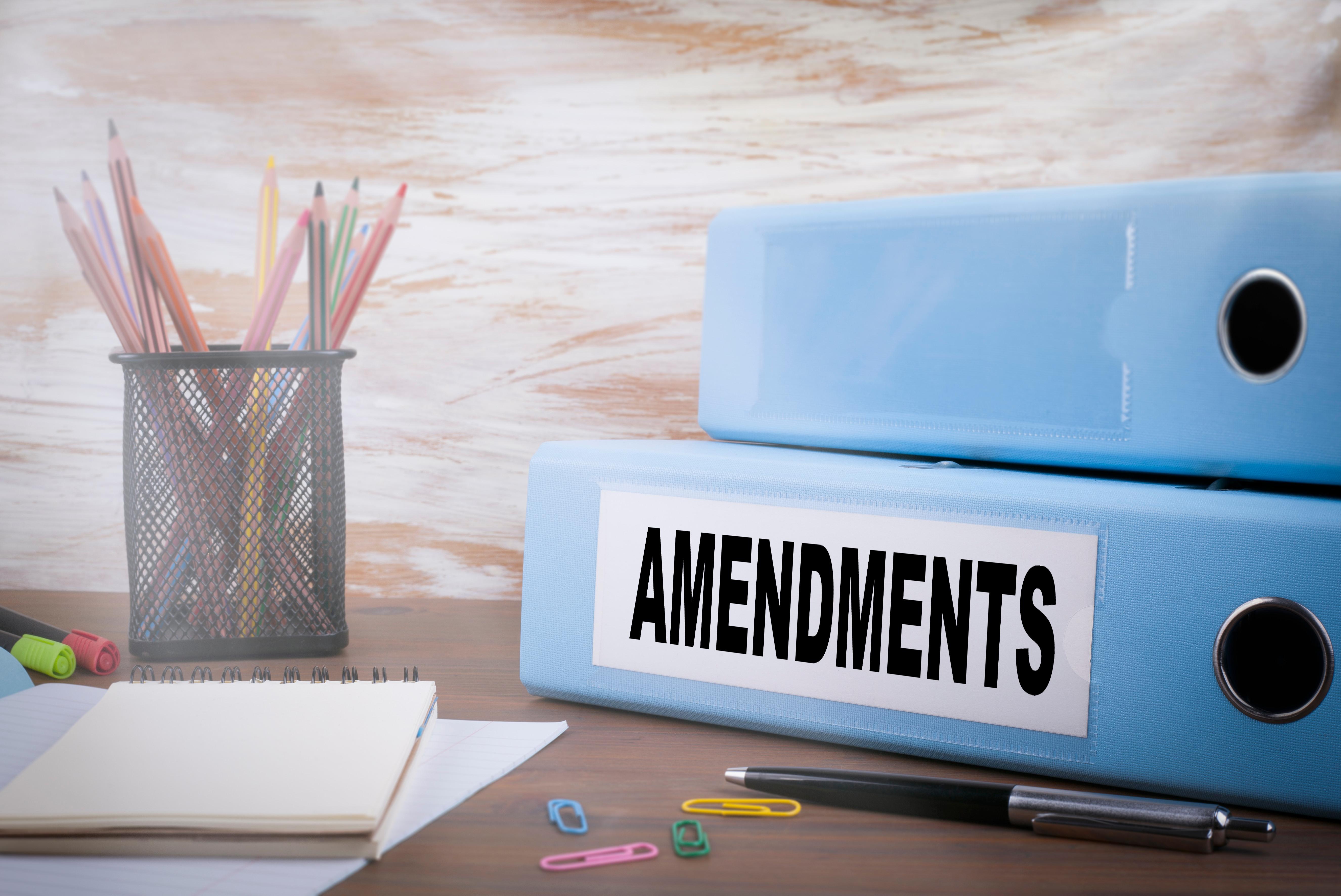 Tax Amendment(s)