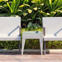 chaises mobilier d'extérieur
