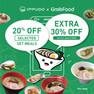 20% + 30% OFF on GrabFood!