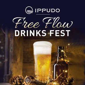 IPPUDO Free Flow Drinks Fest is back!