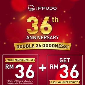 Spend RM36, Get RM36!