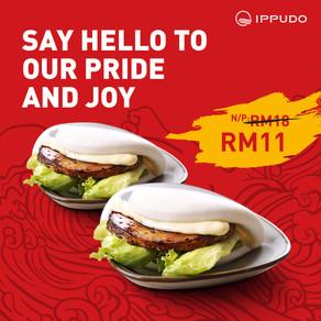 2 IPPUDO Pork Buns @ ONLY RM11