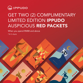 Get TWO (2) Complimentary Limited Edition Ippudo Auspicious Red Packet from us!