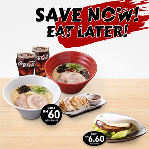 Save Now, Eat Later!