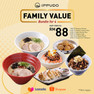 Family Value Bundle @ RM88 only!