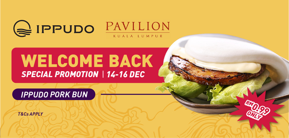 Ippudo Pavilion Welcome Back Special