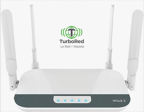 Turbo Hogar Control 20 MBPS/200 GB