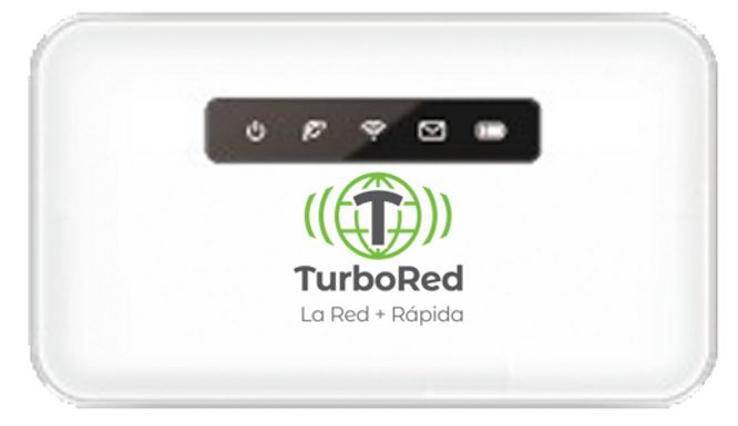 Turbo Recarga MiFi Prepago 30GB