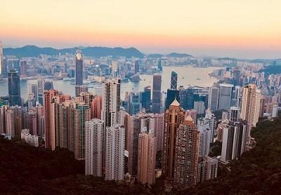 香港からのお客様。