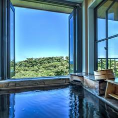 hanahana空の客室露天風呂