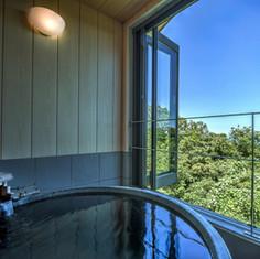 hanahana海の客室露天風呂