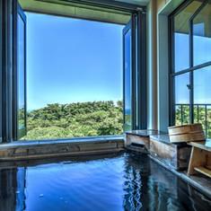 hanahana月の客室露天風呂