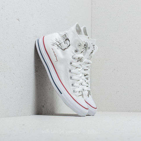 FTSHP X MAXIM CONVERSE ALL STAR HI Heart White