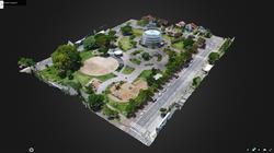 Mapeamento 3D de áreas industriais