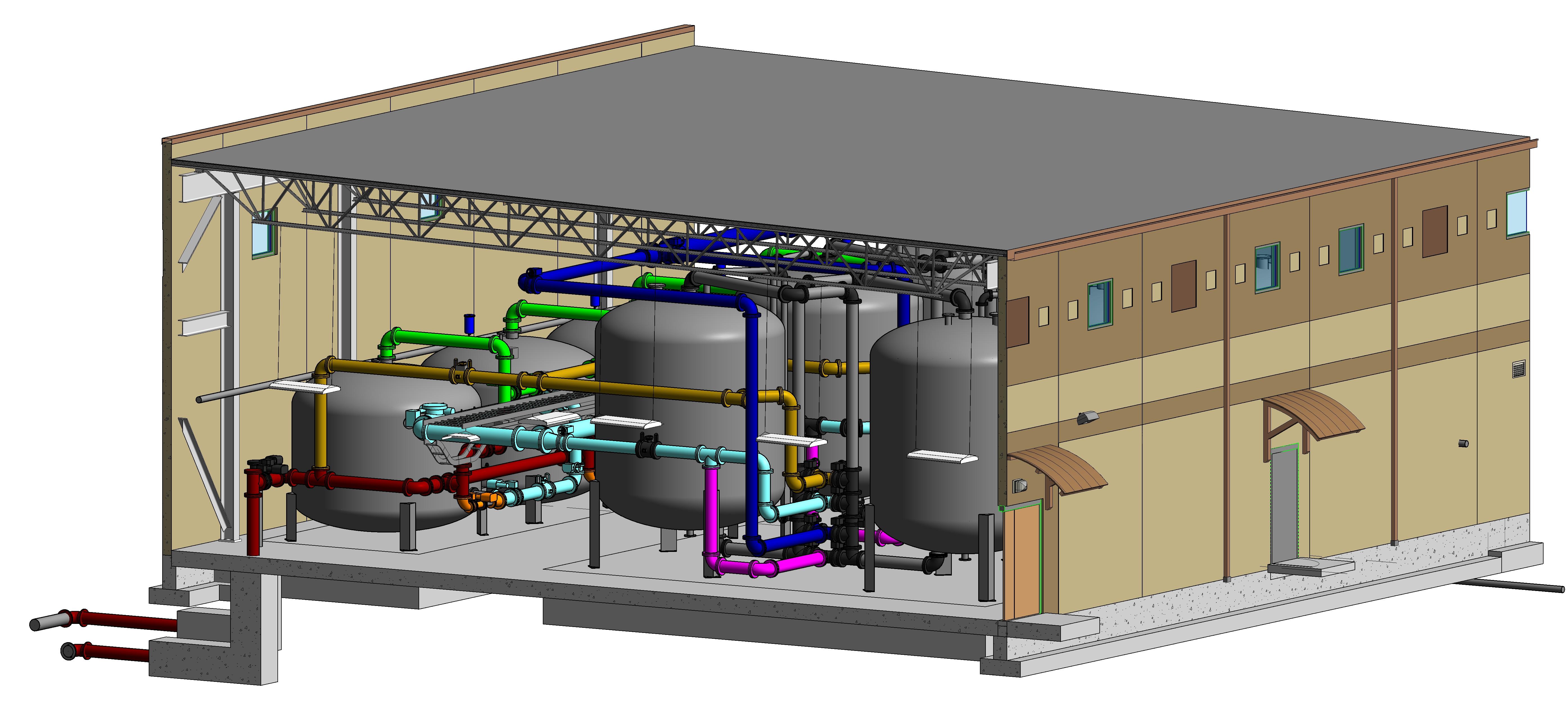 Projeto para Transporte de produtos liquidos.