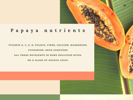 The Benefits of Papaya