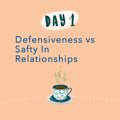 Defensiveness vs Safety (2 persons)