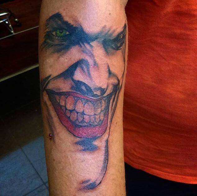 Joker done by _sethvanno #jokertattoo #i