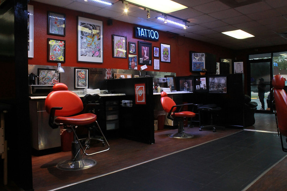 a0a8f9d49 Tattoo & Piercing Shop Tampa Fl   United States   Ink Wolves Tattoos