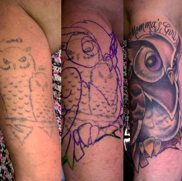 Cover up done by _sethvanno #inkwolvesta