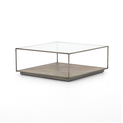 Abel Sunburst Square Coffee Table-Sunbur