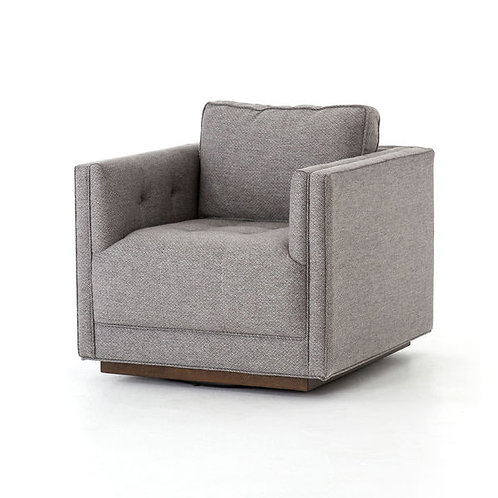Kiera Swivel Chair Noble Greystone