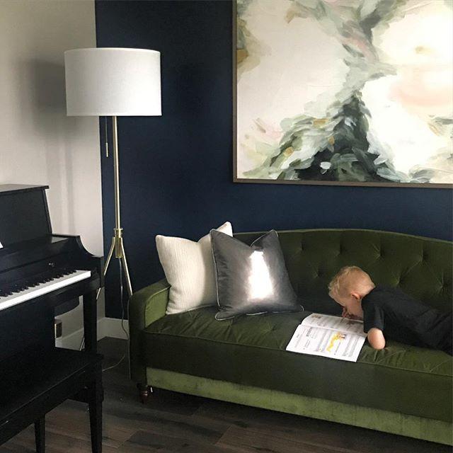Anya's Decor: Piano Room