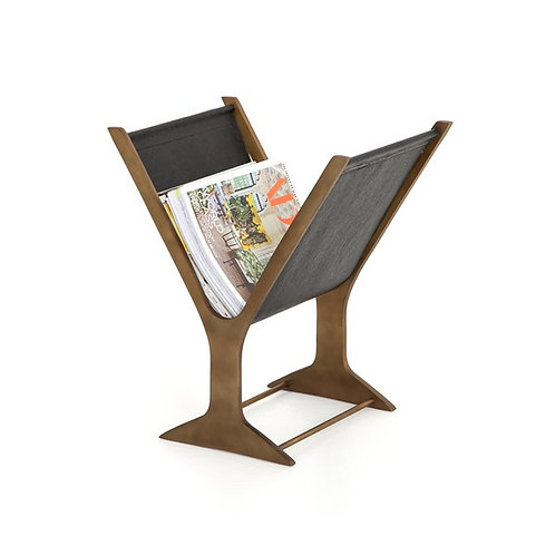 Feldman Magazine Rack-Black