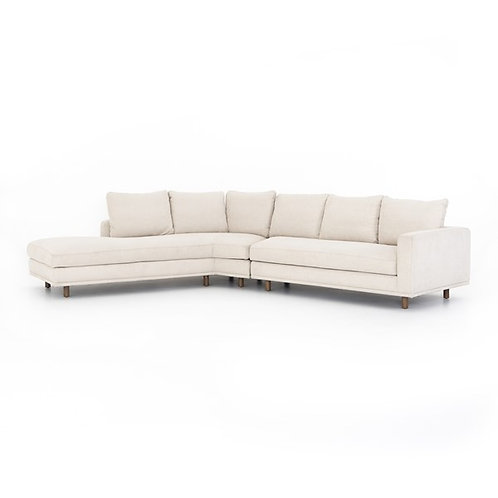 Dom 2 Pc Sectional-Laf Angle Chaise-Bonn