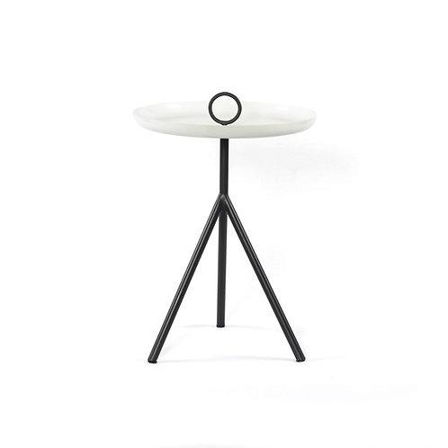 Alora End Table-Charcoal