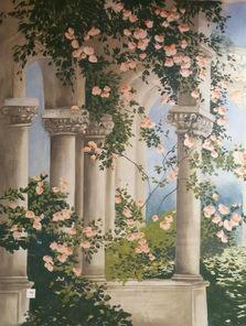 Fresques décors muraux trompe l'oeil