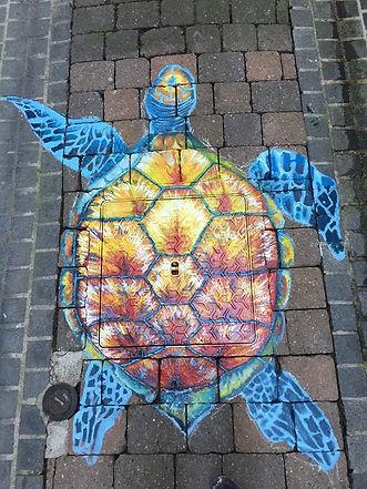 Street Art Chalons en Champagne, rue de