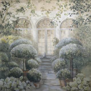 Toile jardin