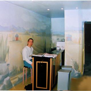 Decor salle de répétition musique