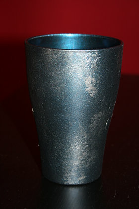 6 verres empilables bleus