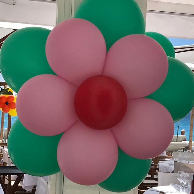 Fleurs en ballons