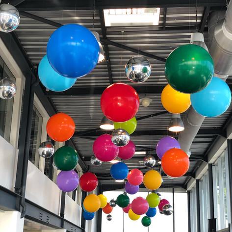 Suspension ballons 3 pieds