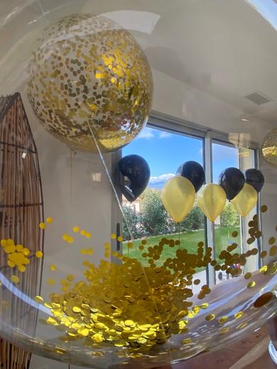 Aqua Ballon+confettis