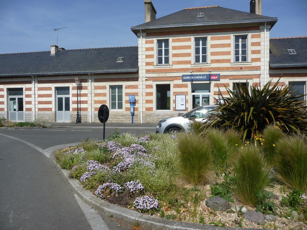 Bahnhof Chemillé