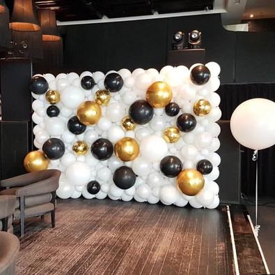 Mur de ballons Blanc