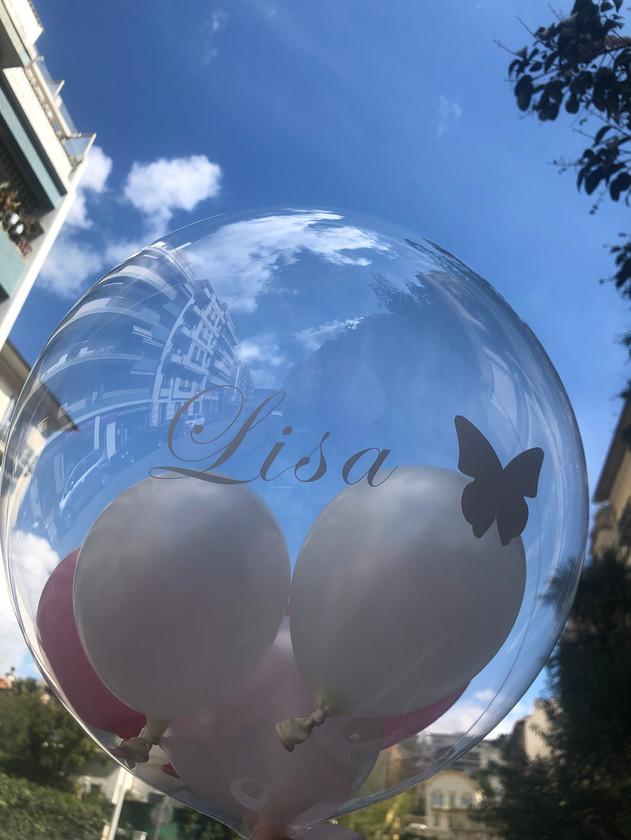 """Aqua ballon + ballons 5"""""""