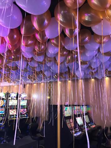 5000 ballons à l'hélium