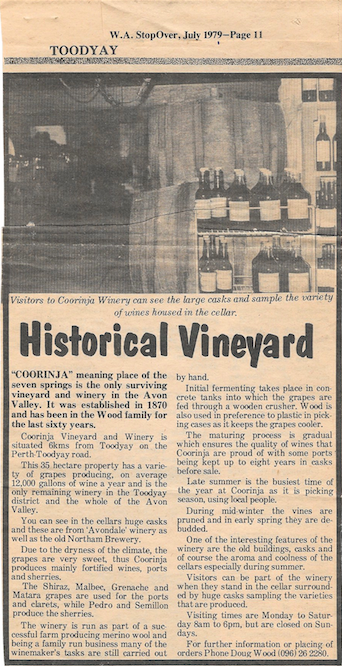 Historical Vineyard