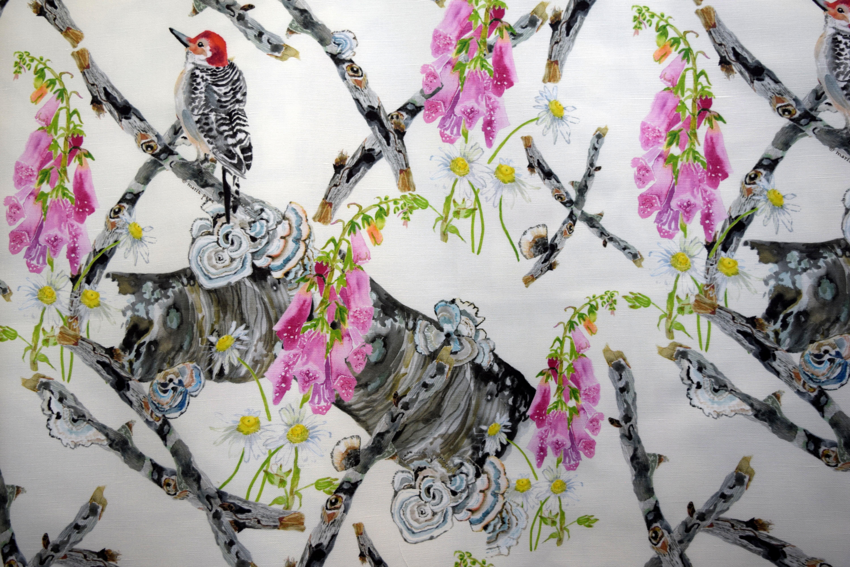 woodpecker & foxglove