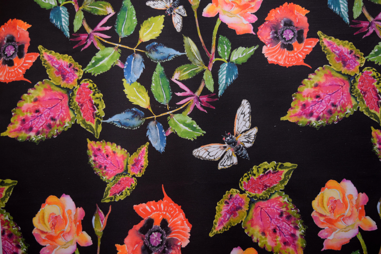 cicada, poppy & rose